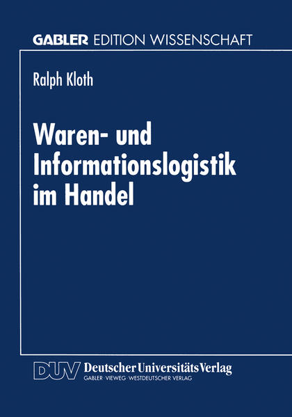 Waren- und Informationslogistik im Handel - Coverbild