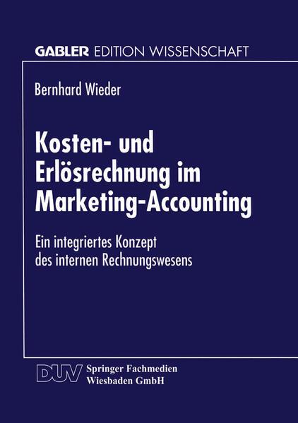 Kosten- und Erlösrechnung im Marketing-Accounting - Coverbild