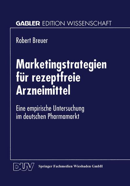 Marketingstrategien für rezeptfreie Arzneimittel - Coverbild