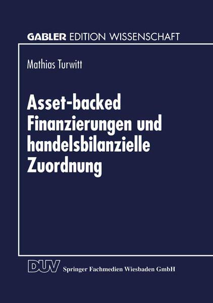 Asset-backed Finanzierungen und handelsbilanzielle Zuordnung - Coverbild