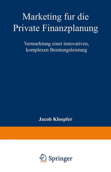 Marketing für die Private Finanzplanung - Coverbild