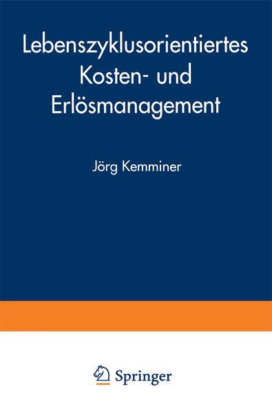 Lebenszyklusorientiertes Kosten- und Erlösmanagement - Coverbild