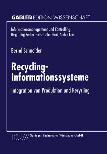 Recycling-Informationssysteme - Coverbild