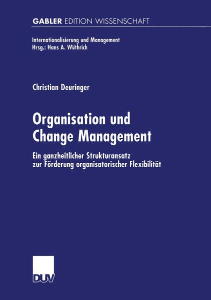 Organisation und Change Management - Coverbild