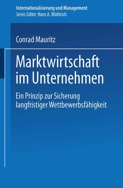 Marktwirtschaft im Unternehmen - Coverbild