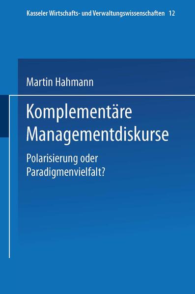 Komplementäre Managementdiskurse - Coverbild