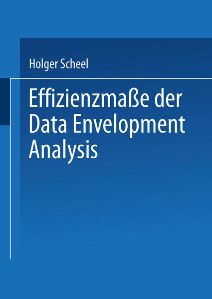 Effizienzmaße der Data Envelopment Analysis - Coverbild
