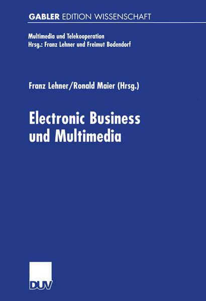 Electronic Business und Multimedia - Coverbild