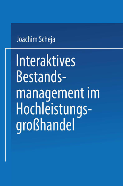 Interaktives Bestandsmanagement im Hochleistungsgroßhandel - Coverbild