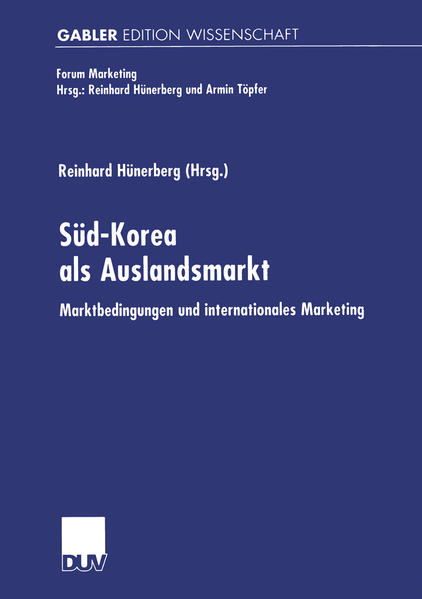 Süd-Korea als Auslandsmarkt - Coverbild
