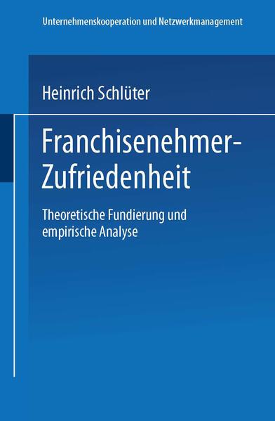 Franchisenehmer-Zufriedenheit - Coverbild