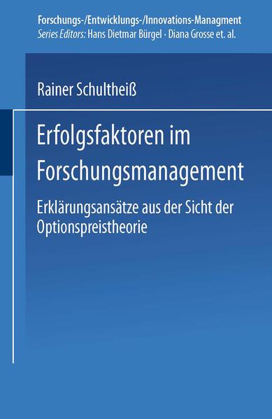 Erfolgsfaktoren im Forschungsmanagement - Coverbild