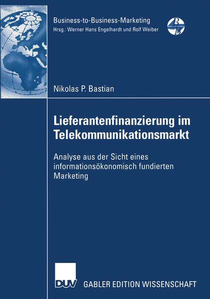 Lieferantenfinanzierung im Telekommunikationsmarkt - Coverbild