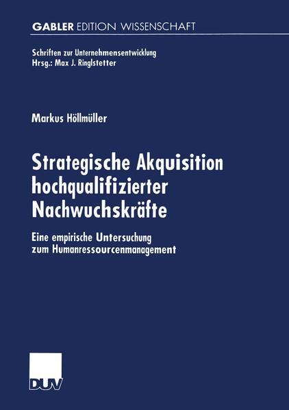 Strategische Akquisition hochqualifizierter Nachwuchskräfte - Coverbild