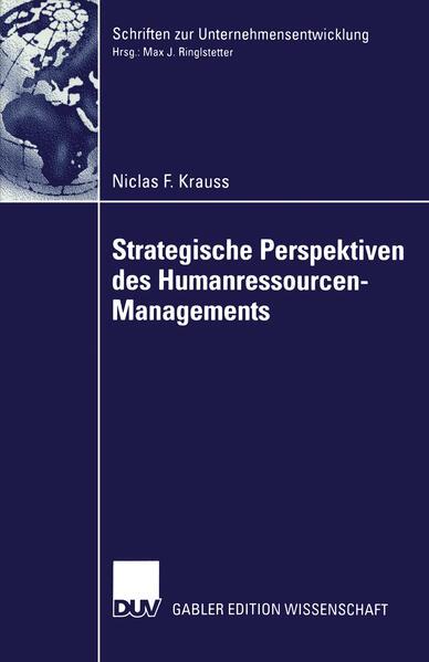 Strategische Perspektiven des Humanressourcen-Managements - Coverbild