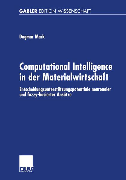 Computational Intelligence in der Materialwirtschaft - Coverbild