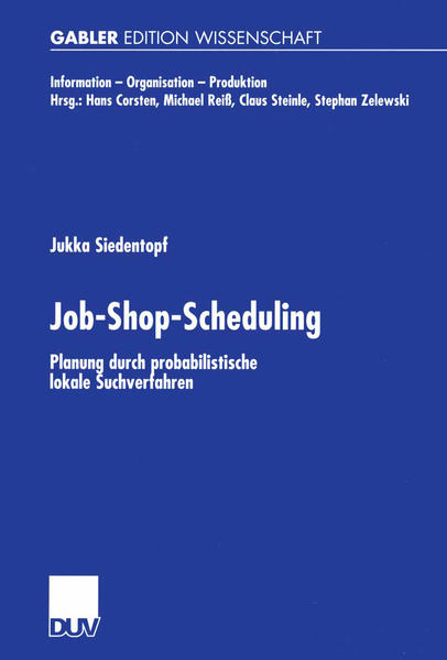 Job-Shop-Scheduling - Coverbild