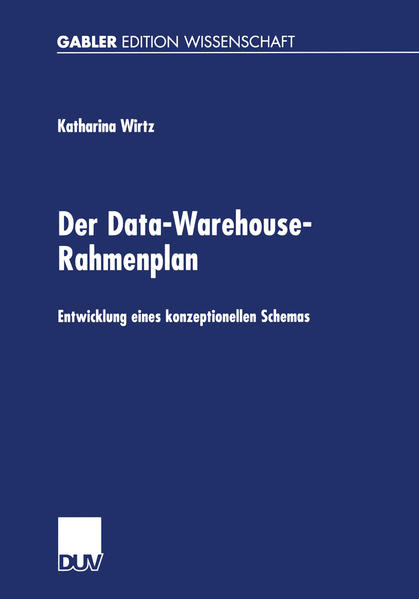 Der Data-Warehouse-Rahmenplan - Coverbild