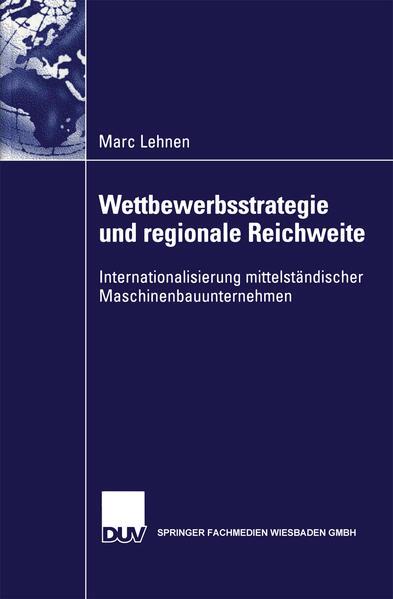 Wettbewerbsstrategie und regionale Reichweite - Coverbild