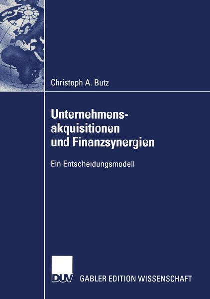 Unternehmensakquisitionen und Finanzsynergien - Coverbild