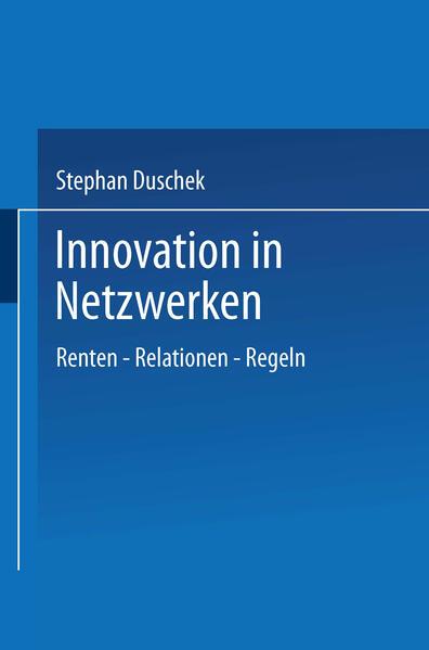 Innovation in Netzwerken - Coverbild