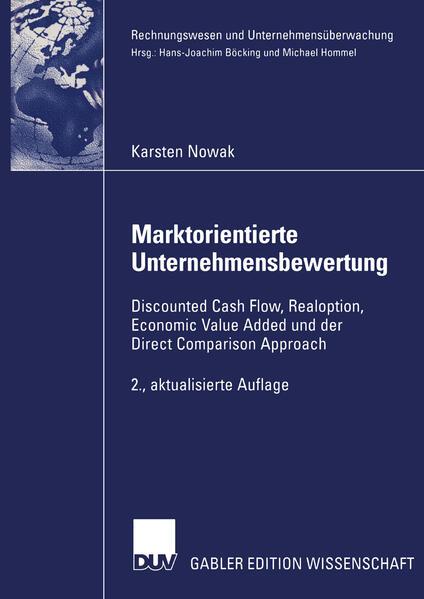 Marktorientierte Unternehmensbewertung - Coverbild