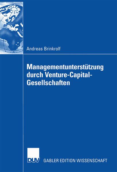 Managementunterstützung durch Venture-Capital-Gesellschaften - Coverbild