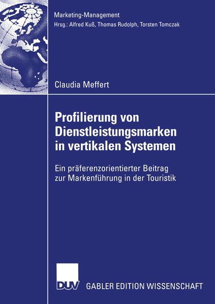 Profilierung von Dienstleistungsmarken in vertikalen Systemen - Coverbild