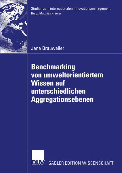 Benchmarking von umweltorientiertem Wissen auf unterschiedlichen Aggregationsebenen - Coverbild