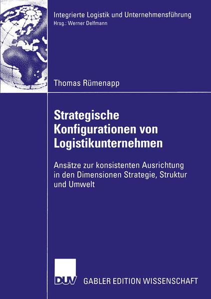 Strategische Konfigurationen von Logistikunternehmen - Coverbild