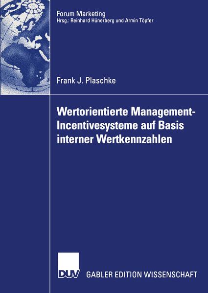 Wertorientierte Management-Incentivesysteme auf Basis interner Wertkennzahlen - Coverbild