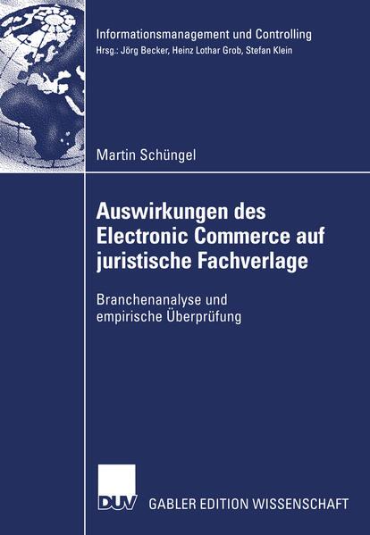 Auswirkungen des Electronic Commerce auf juristische Fachverlage - Coverbild