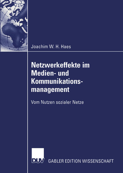 Netzwerkeffekte im Medien- und Kommunikationsmanagement - Coverbild