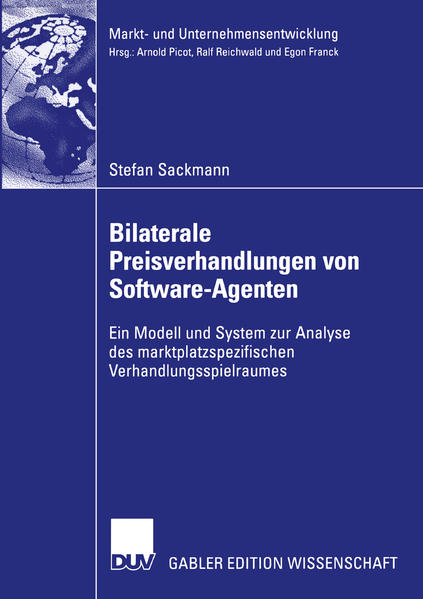Bilaterale Preisverhandlungen von Software-Agenten - Coverbild