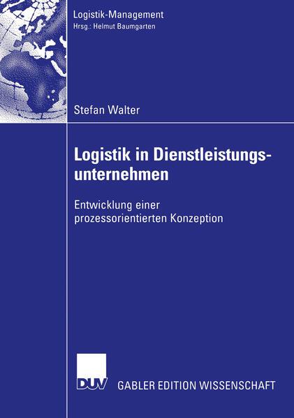 Logistik in Dienstleistungsunternehmen - Coverbild