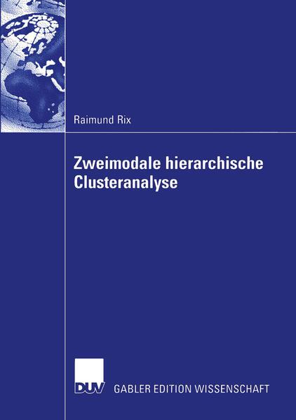 Zweimodale hierarchische Clusteranalyse - Coverbild