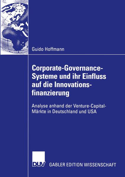 Corporate-Governance-Systeme und ihr Einfluss auf die Innovationsfinanzierung - Coverbild