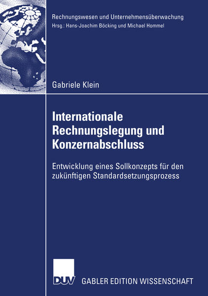 Internationale Rechnungslegung und Konzernabschluss - Coverbild