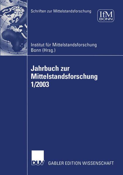 Jahrbuch zur Mittelstandsforschung 1/2003 - Coverbild
