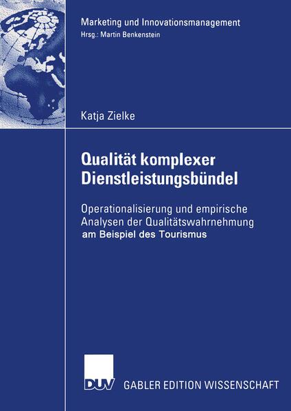 Qualität komplexer Dienstleistungsbündel - Coverbild