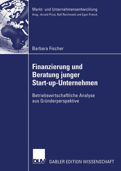 Finanzierung und Beratung junger Start-up-Unternehmen - Coverbild