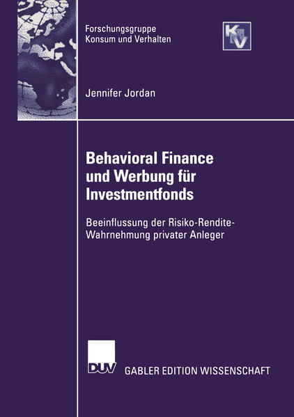 Behavioral Finance und Werbung für Investmentfonds - Coverbild