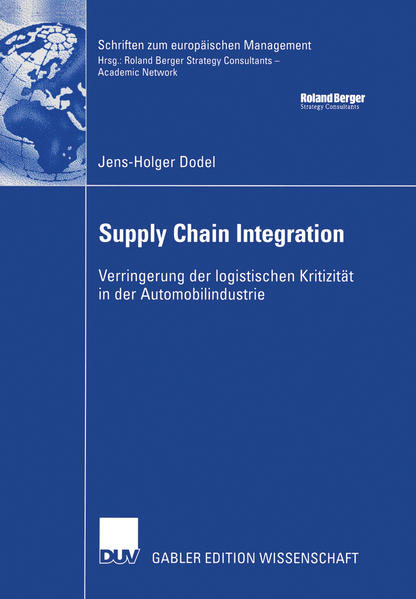 Supply Chain Integration - Coverbild