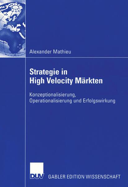 Strategie in High Velocity Märkten - Coverbild