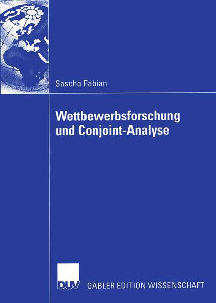 Wettbewerbsforschung und Conjoint-Analyse - Coverbild