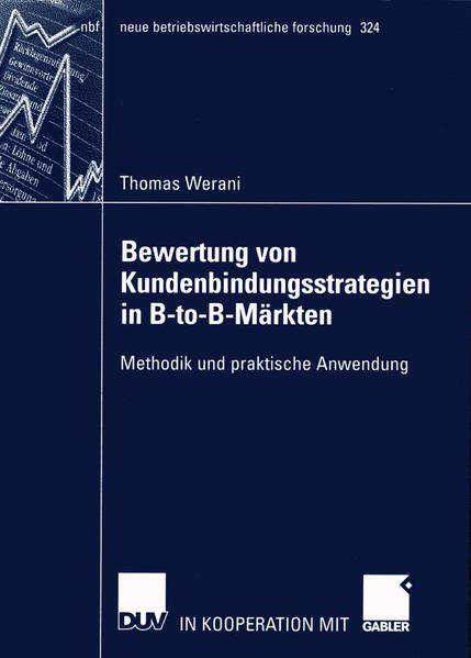 Bewertung von Kundenbindungsstrategien in B-to-B-Märkten - Coverbild