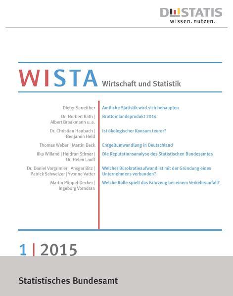 WISTA 1/2015 - Coverbild