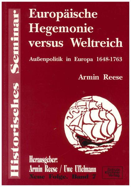 Europäische Hegemonie versus Weltreich - Coverbild