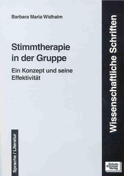 Stimmtherapie in der Gruppe - Coverbild