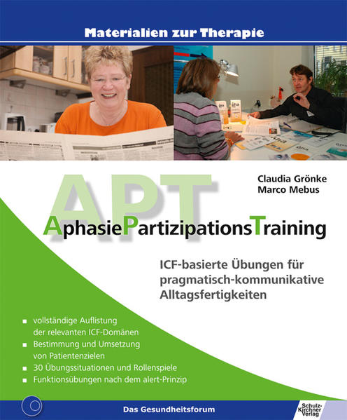 AphasiePartizipationsTraining - Coverbild